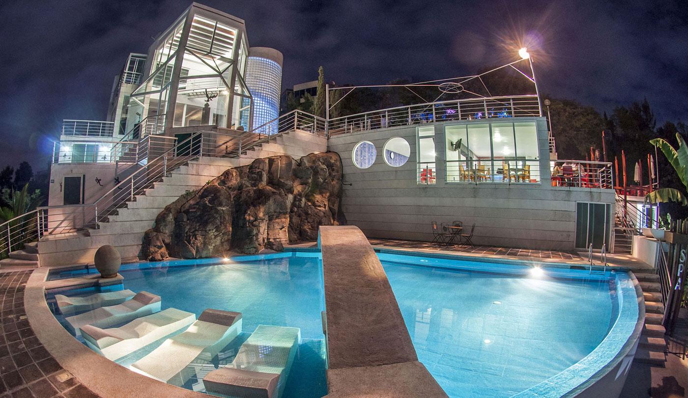 Hotel Cantil, uno de los hoteles exóticos para tu Instagram.