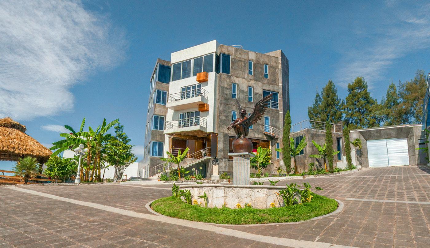 Hotel Cantil combina un ambiente relajado con una temática única.